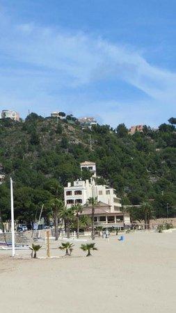 Voramar Hotel: View of hotel from beach