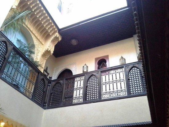 Riad Boutouil: etage