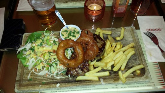 Mando Steakhouse & Bar: Planksteken