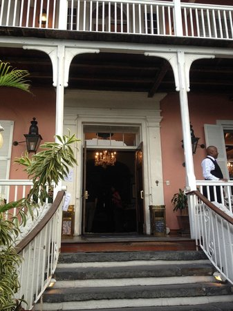 Graycliff Restaurant : Graycliff Entry
