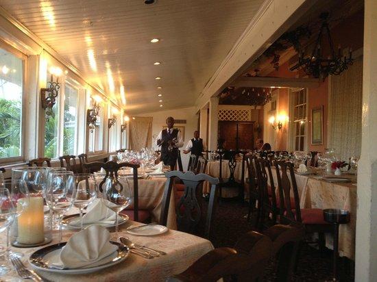 Graycliff Restaurant : Graycliff Patio Dining Room
