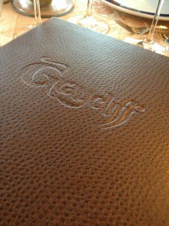 Graycliff Restaurant : Graycliff Menu