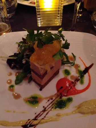 La Courette du Faubourg : terrterrine de foi gras a tombe top