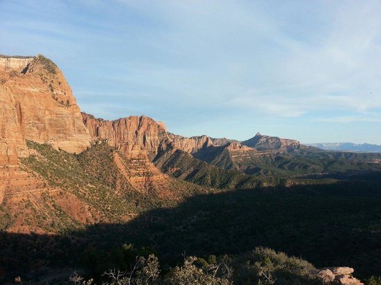 Kolob Canyons: Kolob overlook.
