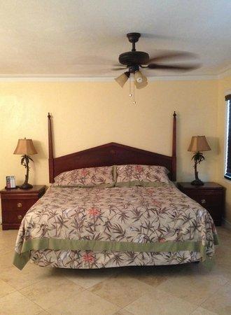 Flamingo Inn : Bedroom area