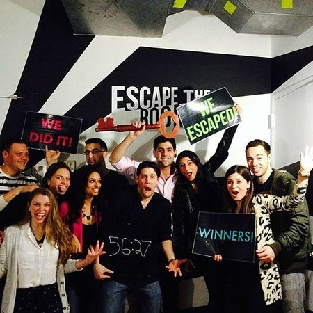We Escaped The Room! - Picture of Escape the Room NYC, New York City ...