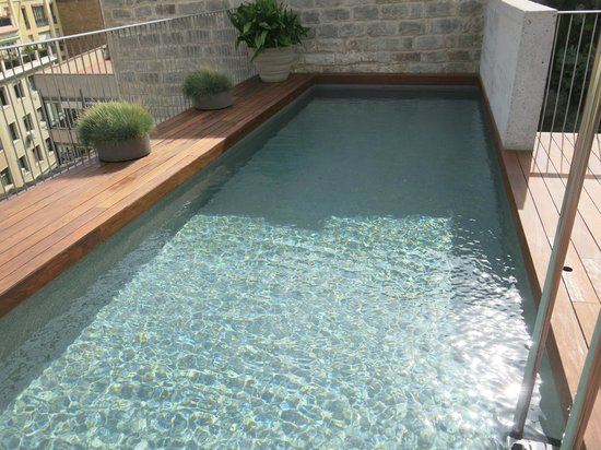 Mercer Hotel Barcelona: Rooftop pool
