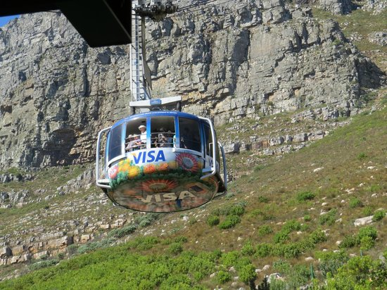 Table Mountain Aerial Cableway: The best way up.