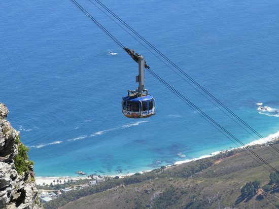Table Mountain Aerial Cableway: Great views