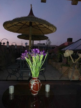 Riad Charme d'Orient : Rooftop terrace