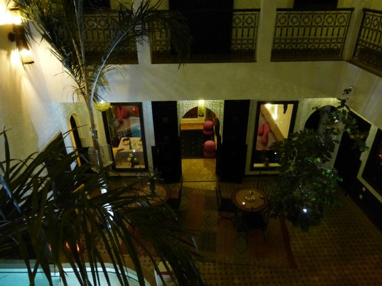 Riad Charme d'Orient : Interior of riad
