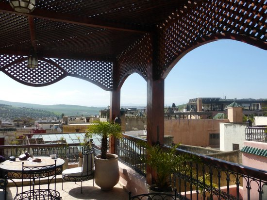Riad Layla : View from rooftop terrace