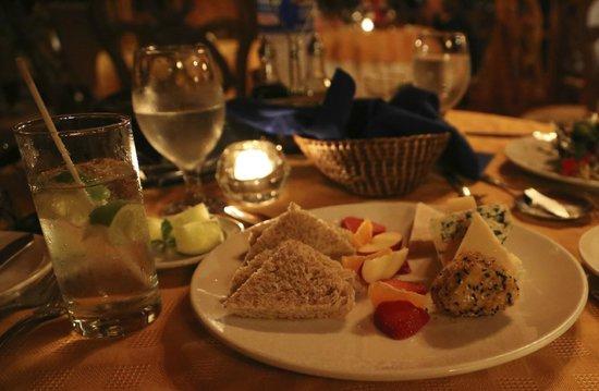 Hotel Belmar : cheese plate