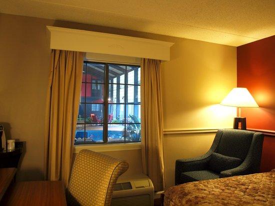 Fireside Inn & Suites : Room