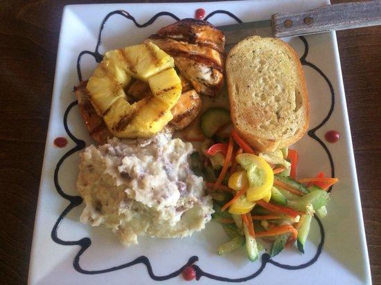 The Hare & Hound Pub : Teriyaki Bourbon Chicken