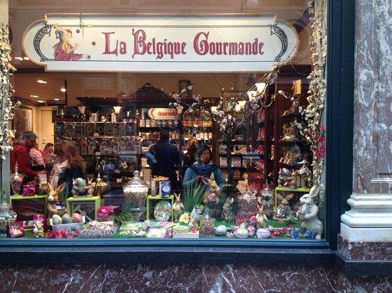 Les Galeries Royales Saint-Hubert : Choc shop