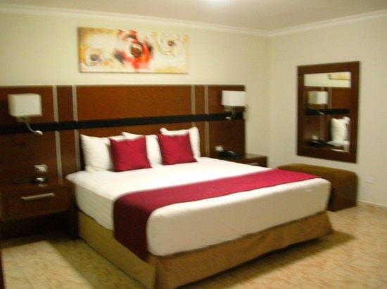 Hotel Coral Suites: la cama super cómoda