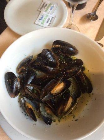El Cazador Italiano: saute di cozze