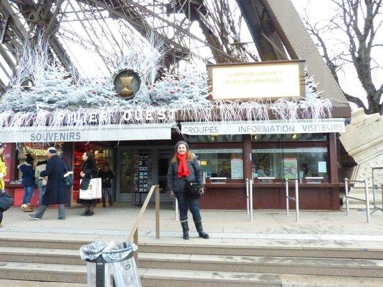 Tour Eiffel : Muy arreglado para Enero..post fiestas