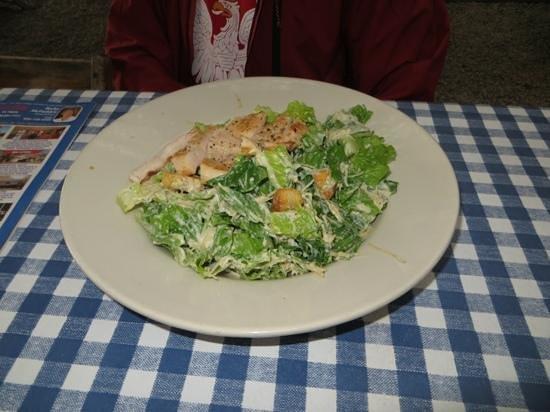 The Auslander Restaurant: Chicken Caesar Salad