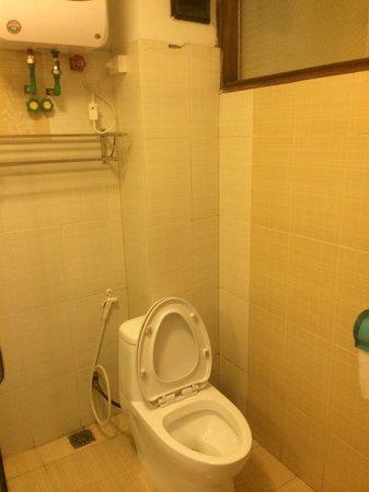 Sapa Elegance Hotel: Toilette dans la sdb