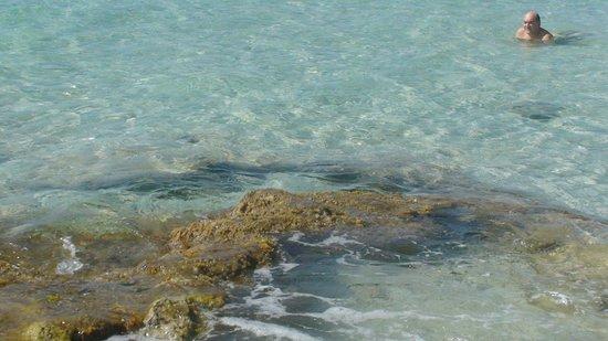Hotel Riu La Mola : agua