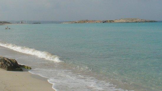 Hotel Riu La Mola: playa