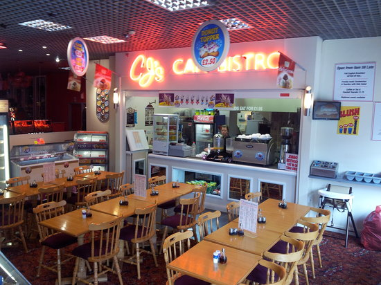 CJ's Cafe Bistro: newest family run diner in the heart of blackpool