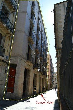 Casa Camper Hotel Barcelona: frontage