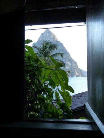 Hummingbird Beach Resort: View from Room #9