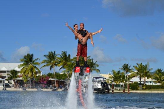 Baie Nettle, St Martin / St Maarten: Mike notre moniteur