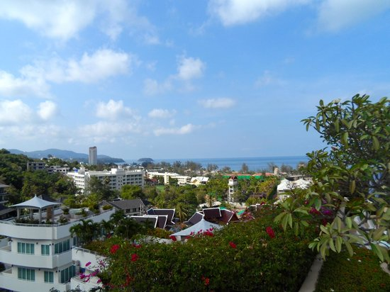 Pacific Club Resort : View from the rooftop pool