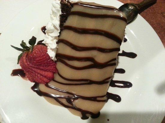 Girvan Grille: Chocolate Cake