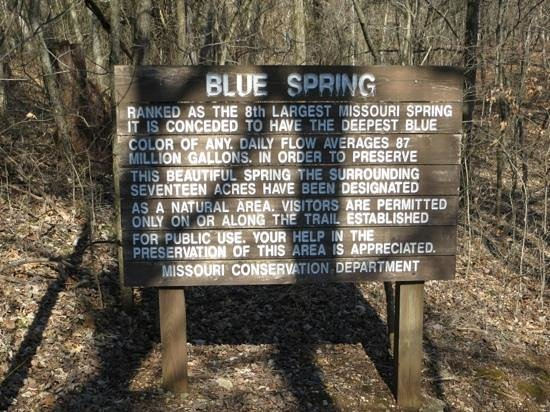 Ozark National Scenic Riverways: Blue Spring