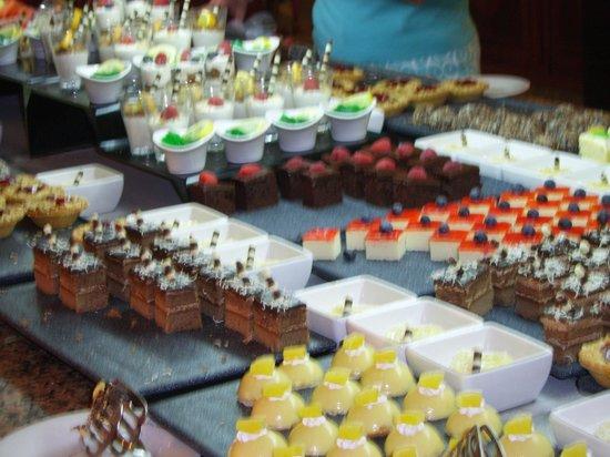 Hotel Riu Palace Paradise Island : desserts
