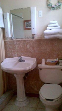Greystone Motel: Bath room with shower