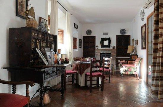 Santa Isabel la Real: 1階の共有スペース