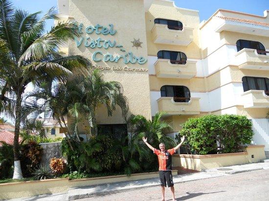 Hotel Vista Caribe : frente