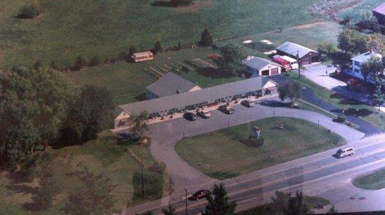 Greystone Motel: Birds eye view