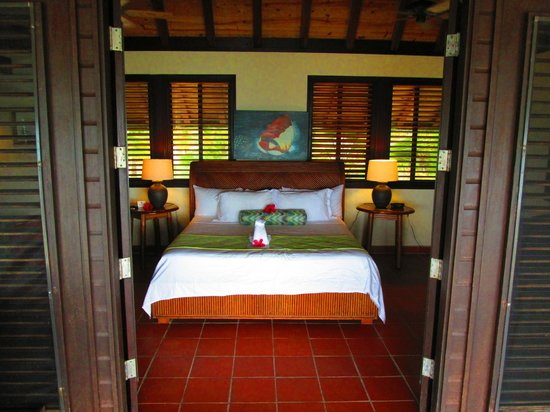 Palm Island Resort & Spa : Bed at the Loft