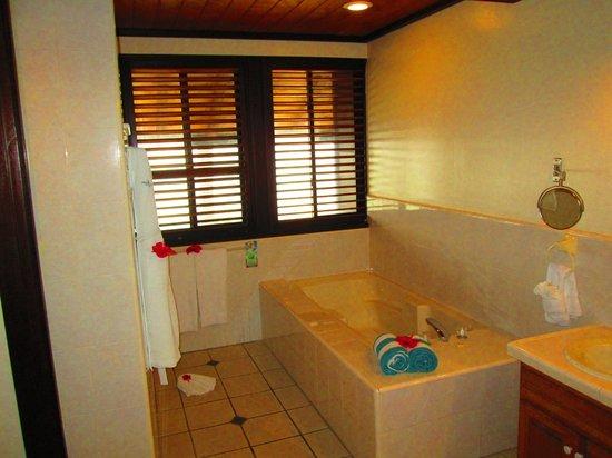 Palm Island Resort & Spa : Bath tub