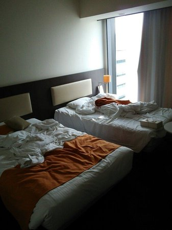 Hotel Gracery Sapporo: ツインのお部屋です。広さも十分です。