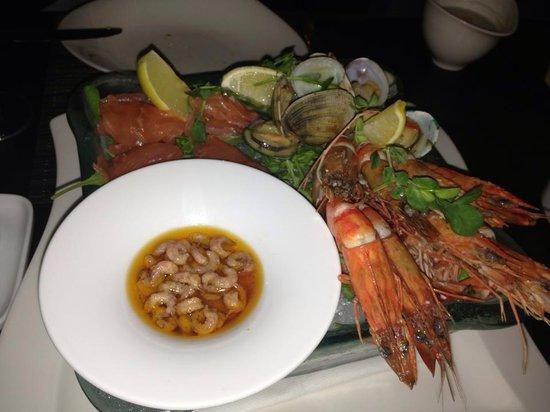Hilton London Tower Bridge : Seafood platter