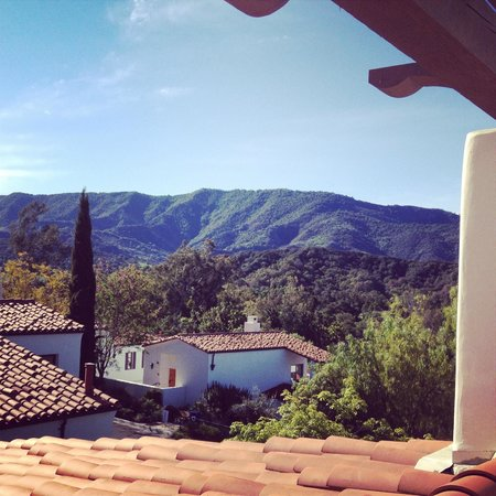 Ojai Valley Inn: View from our balcony