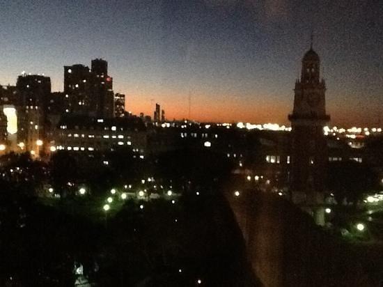 Sheraton Buenos Aires Hotel & Convention Center: vista da torre inglesa de um dos quartos