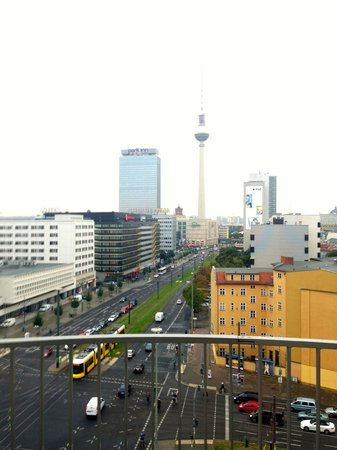 Soho House Berlin: View towards Alexander Platz