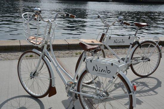 Nimb Hotel: Nimb Fahrräder im traditionellen Stil