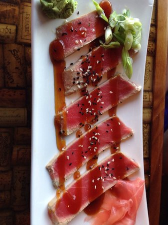 River Room: Ahi appetizer