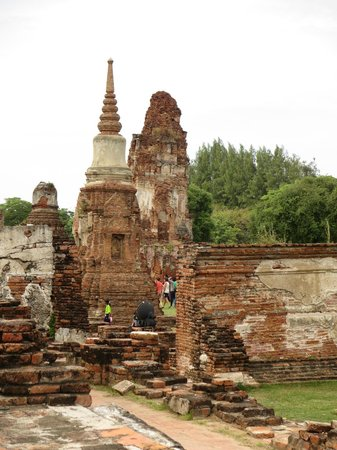 Ayutthaya Ruins : 比較的形が残っている建造物