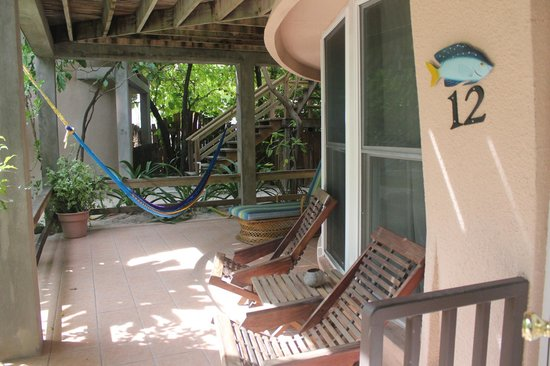 Xanadu Island Resort: Room #12 Patio